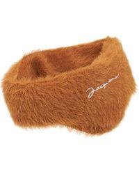 Jacquemus Le Bandeau Neve Headband - Brown