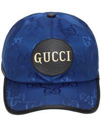 Gucci - Бейсболка Из Нейлона - Lyst