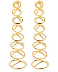 Joanna Laura Constantine - Knot Dangling Earrings - Lyst