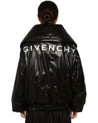 Givenchy Quilted Nylon Puffer Jacket - Black