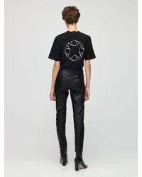 1017 ALYX 9SM T-shirt En Jersey De Coton Avec Logo - Noir