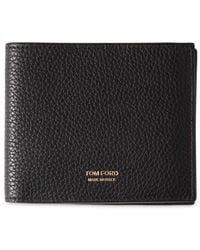 Tom Ford Бумажник С Тисненым Логотипом - Черный