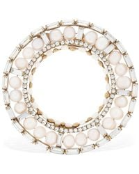 Rosantica - Cristallo Brooch W/ Pearls - Lyst