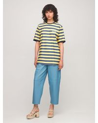 Sunnei コットンジャージーtシャツ - イエロー