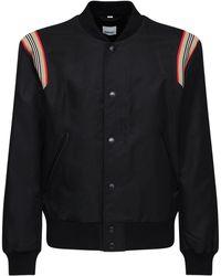 Burberry Куртка-бомбер Heritage Из Нейлона - Черный