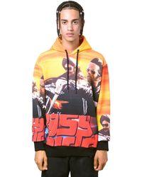 """Marcelo Burlon Sweat-shirt Imprimé """"easy Rider"""" - Noir"""