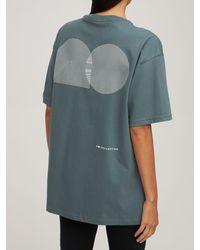"""Nike T-shirt Aus Baumwolle """"tennis"""" - Grau"""