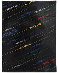 Balenciaga ロゴ レザーバッグ - ブラック