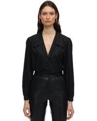 Zeynep Arcay Cotton Shirt - Black