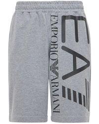 EA7 Спортивные Шорты - Серый