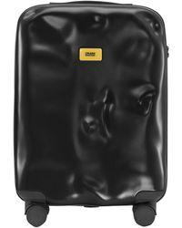"""Crash Baggage Maleta Trolley De Cabina """"Icon"""" Con 40 Ruedas 4L - Negro"""