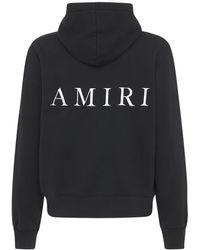 Amiri - Ma ジャージースウェットフーディー - Lyst