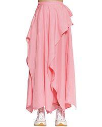 JW Anderson Handkerchief キュプラポプリンスカート - ピンク