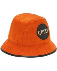 Gucci グッチ Off The Grid フェドラハット - オレンジ