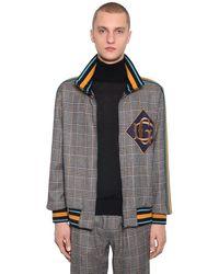 Dolce & Gabbana Куртка Из Смешанной Шерсти - Коричневый