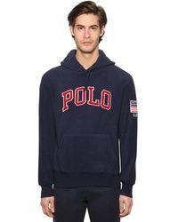 Polo Ralph Lauren テクノスウェットフーディ - ブルー