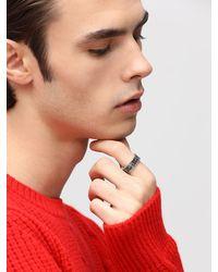 Gucci 8mm Gg-logo-ring - Mettallic