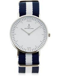 KAPTEN & SON - 40mm Sail Steel Watch - Lyst