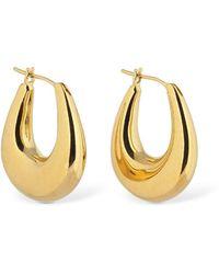 Sophie Buhai Large Etruscan Hoop Earrings - Mettallic