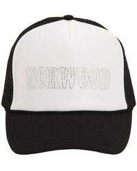 Norwood Cotton Trucker Hat - Black