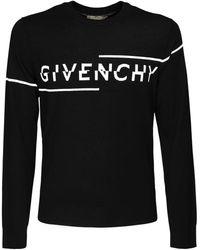Givenchy Свитер С Логотипом - Черный