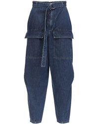 Stella McCartney Jeans Aus Baumwolldenim - Blau