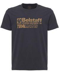 Belstaff Trialmaster Vintage Cotton T-shirt - Black