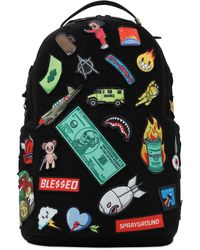 Sprayground - Patches On Patches バックパック - Lyst