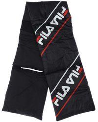 Fila Padded Nylon Scarf - Black