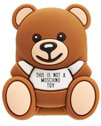 Moschino Teddy Airpods ケース - ブラウン