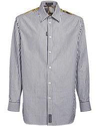 Versace - Рубашка Из Хлопка С Принтом - Lyst