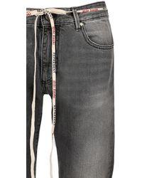 "Represent Jeans Aus Baumwolldenim ""popper"" - Grau"