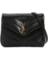 Saint Laurent Toy Loulou Monogram Leather Bag