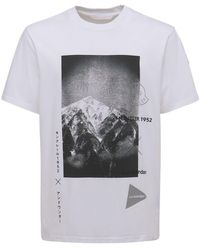 Moncler Genius Moncler 1952 And Wander Tシャツ - ホワイト