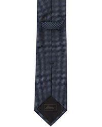 Brioni Шёлковый Галстук 8cm - Синий