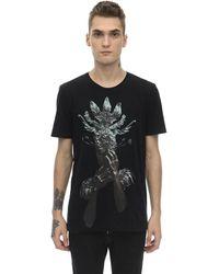 RH45 Flaka Embellished Cotton Jersey T-shirt - Black