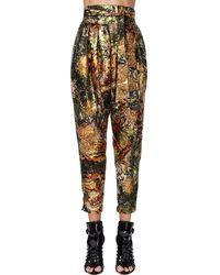 DSquared² Pantalones Lamé Con Jacquard - Multicolor