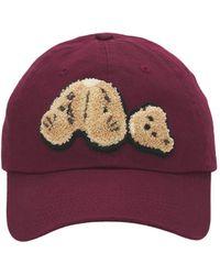 Palm Angels Bear Cap - Purple