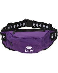 """Kappa Marsupio """"banda Anais"""" Con Logo - Viola"""