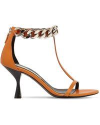 Stella McCartney Falabella エコレザーサンダル 75mm - オレンジ