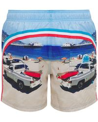 Sundek Recycled Tech Swim Shorts - Blue