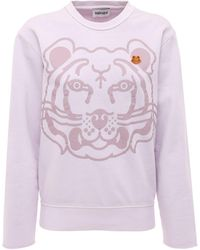 KENZO - K-tiger Classic コットンスウェットシャツ - Lyst