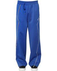 ADER error Pantalon De Survêtement En Nylon - Bleu