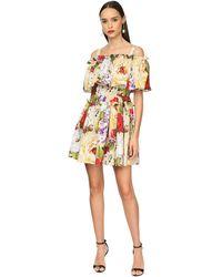 Dolce & Gabbana - ポプリンミニドレス - Lyst