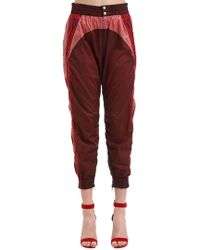 Isabel Marant - Raruso Colour Block Nylon Track Trousers - Lyst