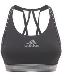 """adidas Originals Gepolstertes Bh-oberteil """"don't Rest"""" - Schwarz"""