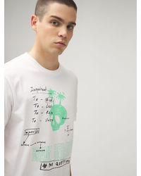 DIESEL コットンジャージーtシャツ - ホワイト