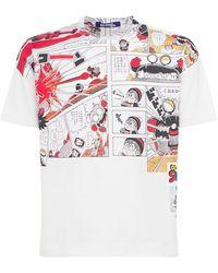 Junya Watanabe コットンジャージーtシャツ - ホワイト