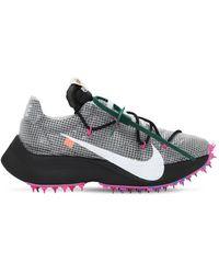 Nike + Off-white Vapor Street Sneakers Aus Ripstop, Veloursleder, Mesh Und Gummi - Schwarz