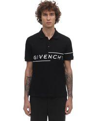 Givenchy Asymmetrisches Poloshirt - Schwarz